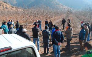 Día de campo realizado en María Pinto
